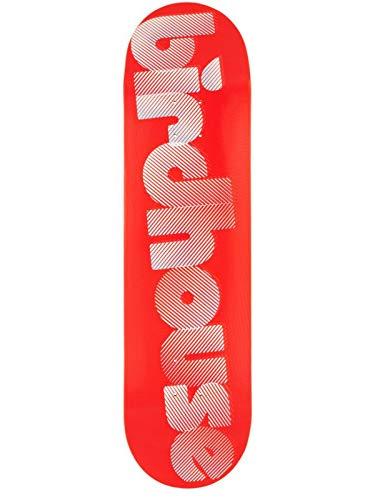 Birdhouse Skateboard-Deck Blur - 8.25 Inch Rot-Weiß (One Size, Rot)