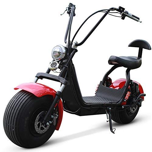 Seniorenmobil ElektromobilElektromotorrad Elektrofahrrad Harley Auto Elektroroller Breitreifen Elektroauto Roller eingebauter Lenkblitz LED Scheinwerfer Hinterrad Warnleuchte LCD-Anzeige