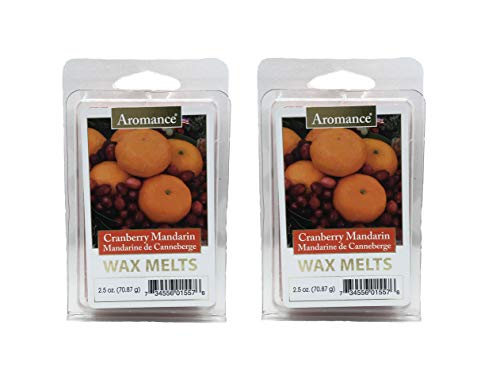 Aromance Cranberry Mandarin Scented Wax Melts 2PK