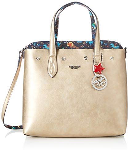 piero guidi Tote Bag con Busta, Borsa Donna, Blu (Lapislazzuli), 32x30x14 cm (W x H x L)