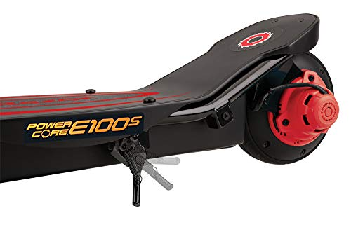 Razor Power Core E100S Seated Electric Scooter - Black/Red - FFP