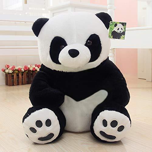 HASD Cuddly Gigante Panda Peluche Juguete Blanco y Negro Lindo muñeca niños Regalo de cumpleaños Realista Animal