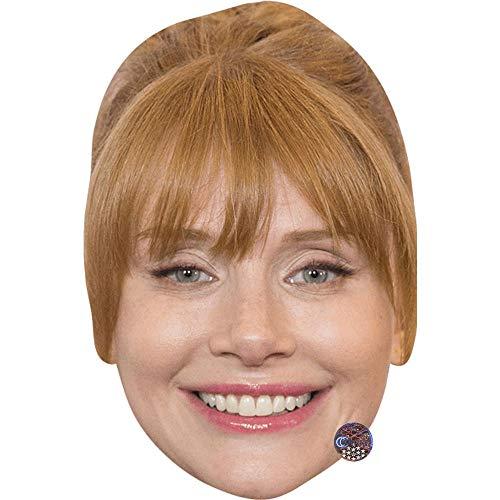Celebrity Cutouts Bryce Dallas Howard (Smile) Maske aus Karton