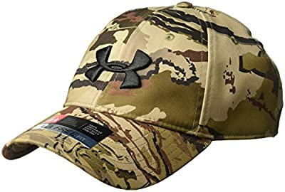 Under Armour Men's Camo Cap 2.0, Ua Barren Camo (999)/Black, One Size Fits All