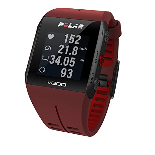 POLAR V800 GPS Sports Watch/Running Watch with Heart Rate Monitor, Black