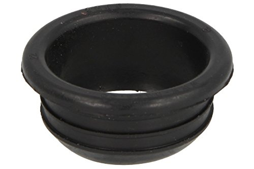 HAAS Gummi-Nippel für PE-HD-Rohre | DN 50/DN 40 | Gummi schwarz | 1 Stück