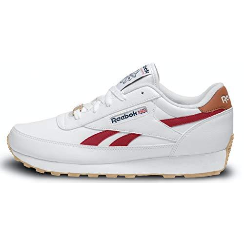 Reebok Classic Renaissance Shoe - Men's Casual White/Excellent Red