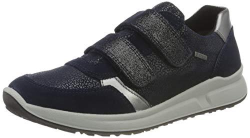 Superfit Mädchen Merida Sneaker, Blau (BLAU 8000), 30 EU