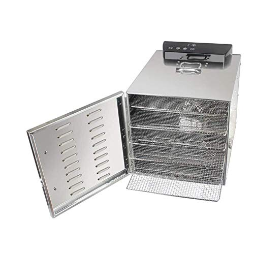 For Sale! Food dryer Stainless Steel Adjustable Temperature Control Food Dehydrator with 6-Layer Sta...