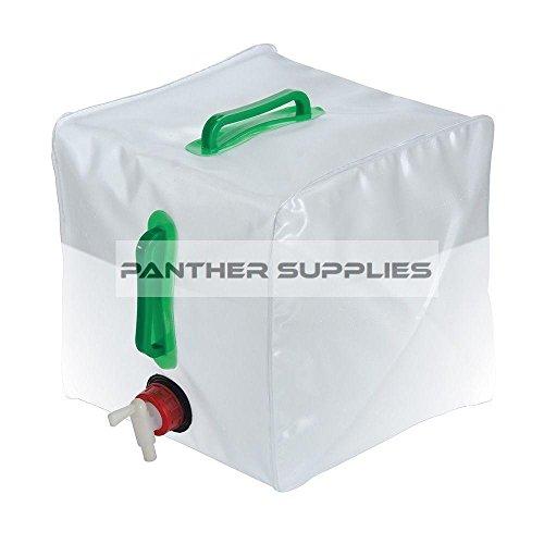Silverline 159729 Faltbarer Wasserbehälter 20 L