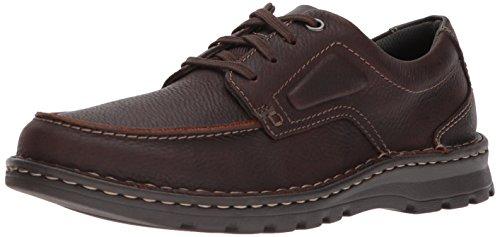 Clarks Men's Vanek Apron Loafer, brown oily leather, 10.5 Medium US