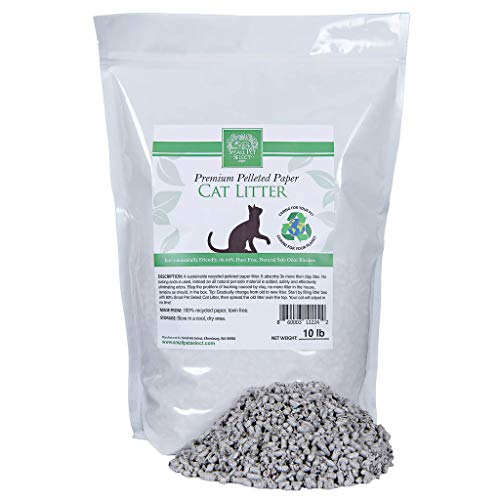 Small Pet Select-Recycled Pelleted Paper Cat Litter 10lb