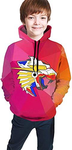 Shichangwei Unisex Bedruckter Pullover Hoodie Sweatshirt für Jungen Mädchen Teen Kinder Gr. M, Newone91