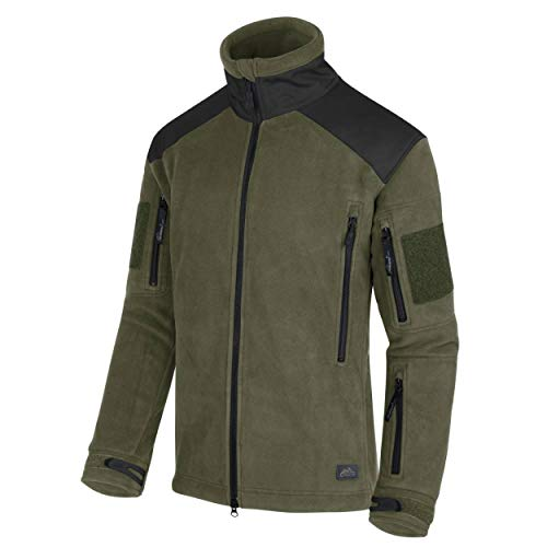Helikon-Tex Liberty Jacke -Heavy Fleece- Oliv/Schwarz, Oliv Schwarz, M