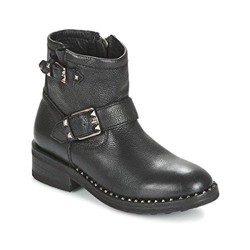 ASH Speed Botines/Low Boots Mujeres Negro Botas de caña Baja