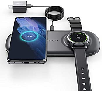 Choetech 2-in-1 Samsung Wireless Charger