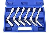 Set di chiavi articolate per candelette, 6 pezzi, chiave a incandescenza, 3/8'