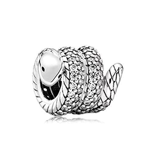 Color plateado Lucky Cat Cadena de seguridad Perro Paw Crown Owl Love Colgante Fit Pandora Charms Pulseras DIY Mujeres Original Beads Jewelry-S100
