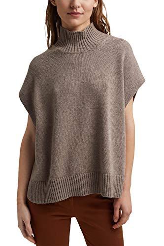 ESPRIT 120EO1I325 Pullover, 274/Beige 5, S Regular Donna