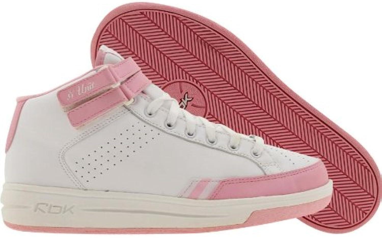 Reebok Womens G Unit Mid (White Pink)