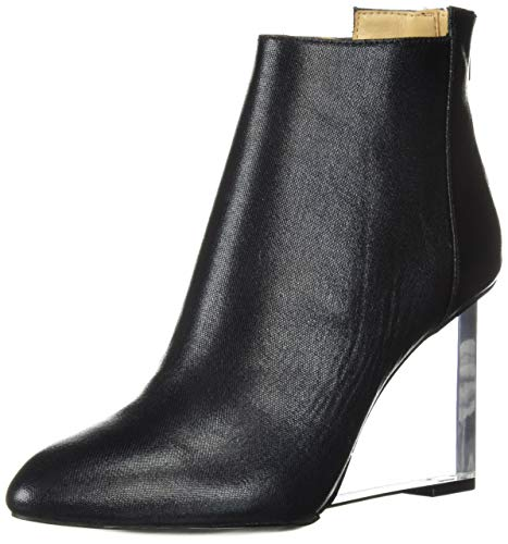 Katy Perry Women's The Mona Ankle Boot, Black, 11 M M US