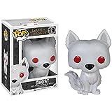 Luckly77 Lobo del lobo del fantasma figura Jon Nieve'Juego de Tronos' exquisita figura de PVC POP