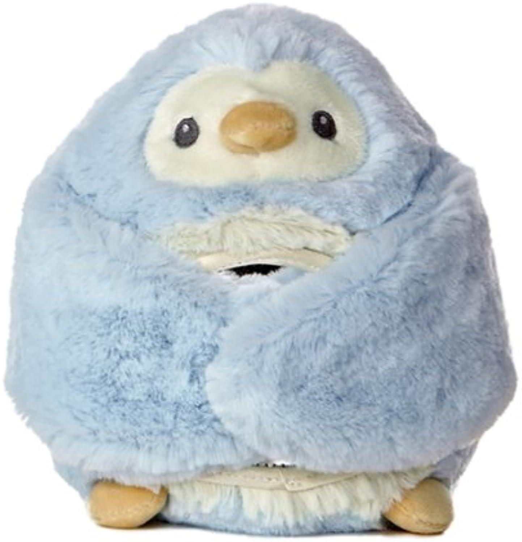 Aurora World Peek-A-Boo Blau Penguin 6.5 Plush by Aurora World