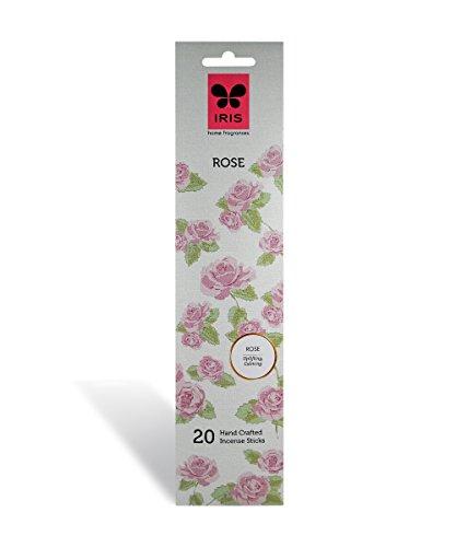 Iris Rose Signature Handcrafted Incense Sticks (Set of 20, Black) (IRSI0530RS)