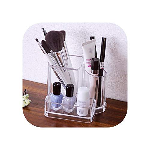 Big Incisor Bikini Reise-Kulturbeutel |PS Nagellack Makeup Organizer Home Aufbewahrungsbox Makeup Pinsel Makeup Organizer Makeup Schwammhalter Augenbrauenstift Organizer-A-10X8.8X11CM