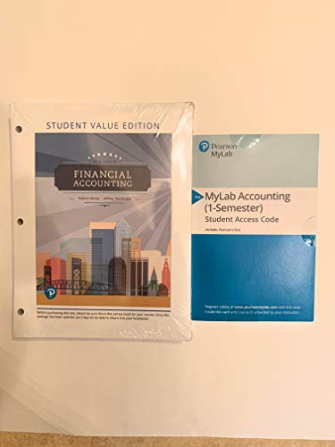 Financial Accounting, Student Value Edition (5th Edition)