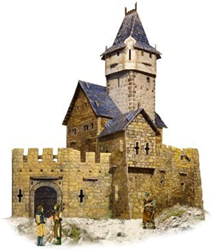 Innovative 3D-Puzzles from UMBUM - Hunting Castle - Series Medieval Town by UMBUM