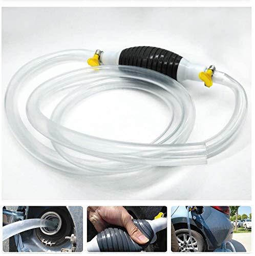 YANSHON Handpumpe, Tragbare Kraftstoffförderpumpe, Manuelle Hand-Siphon-Pumpe Für Benzin, Diesel, Öl, Flüssiges Wasser
