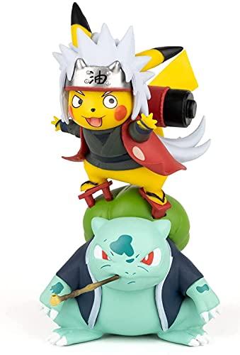 ABROBROKI P ik ac hu Cosplay Jiraiya Action Figure Statues GK Anime Statue Collection Birthday Gifts PVC 4.72'