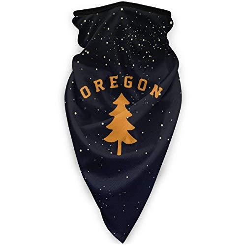 NA Oregon Gesichtsmaske aus Douglas-Kiefer, winddicht, Sport-Maske, Schal, Bandana für Männer und Frauen