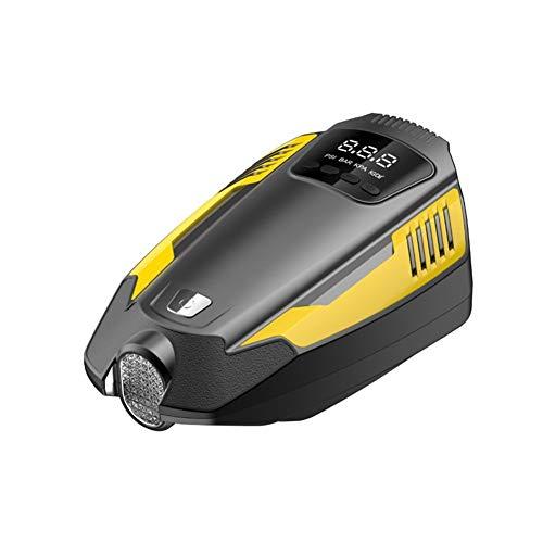 Qilo Bomba de Aire for inflar con Aire Inteligente de neumáticos Digital portátil de compresor de Aire de la Bomba 12V con la Bomba de Aire for los neumáticos de Coches de Bicicletas de la Bola de la