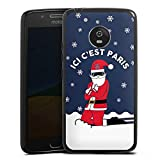 DeinDesign Motorola Moto G5 Coque en Silicone Étui Silicone Coque Souple PSG Paris Saint-Germain...