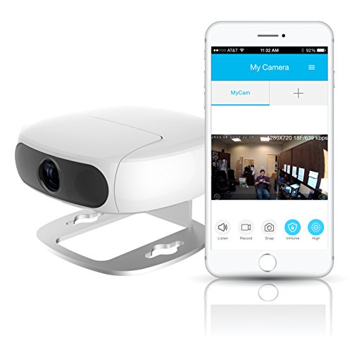 Tofucam by Pyle - 2 Mega Pixel FULL HD 1080P in Home Wireless IP Camera and Baby Monitor - SD Recording and Time Lapse Export