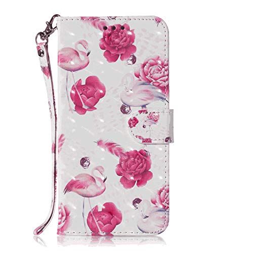 Why Choose Leather Cover Compatible with Samsung Galaxy S10e, Premium Card Holders Kickstand Rose Wa...
