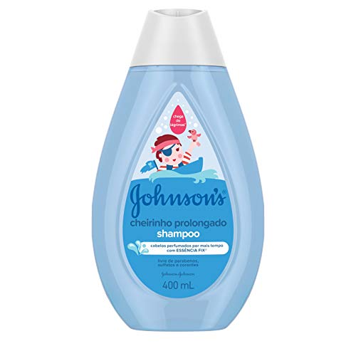 Johnson's Baby Shampoo Infantil Cheiro Prolongado, 400ml