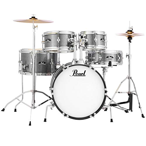 Pearl Roadshow RSJ465C/C708 Junior Schlagzeug Grindstone Sparkle