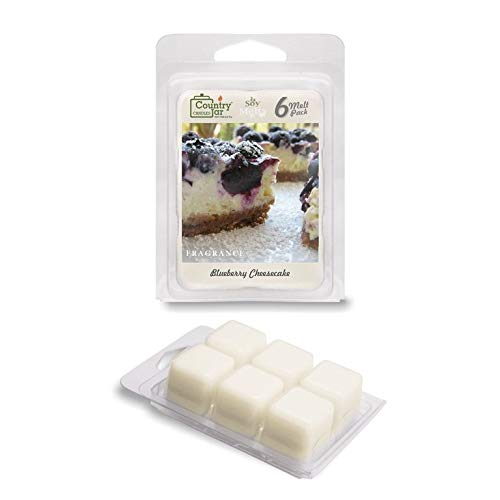 Country Jar Blueberry Cheesecake Soy Wax Melts (2.75 oz. 6-Cb.) Scented Fragrance Tarts : Winter Sale!
