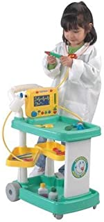 Constructive Playthings RED-94 Emergency Medical Cart for Pretend Play, Grade: Kindergarten to 3