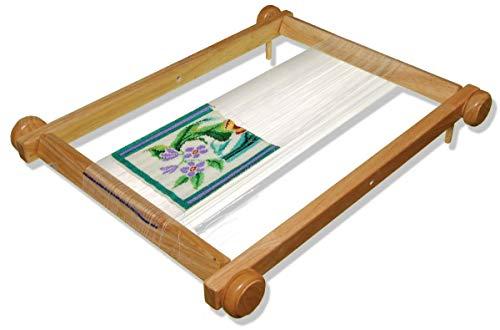 Lacis Bead Loom Hardwood Purse Bead Loom, 11-Inch