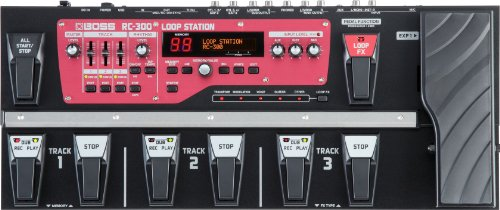 loop station recensione loopstation confronto boss RC300 looper rc-300
