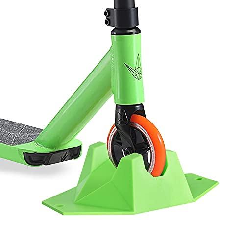Scooter Soporte,Soporte para Patinete con Base Extra Estable,Soporte Universal para Patinete,Compatible con la mayoría de los Scooters Principales para Ruedas de 95 a 120 mm
