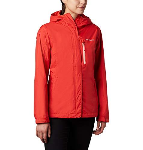 Columbia Pouring Adventure II Jacket, Mujer, Rojo (Bold Orange, Peach...