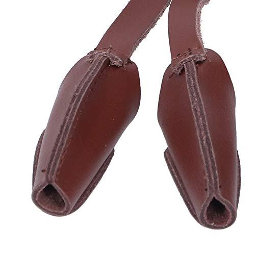 Voluxe Jagd-Dreifinger-Handschuh, Kunstleder-Bogenschießen-Handschuh, Kunstleder, atmungsaktiv, leicht, 1 Stück für das Bogenschießen-Training