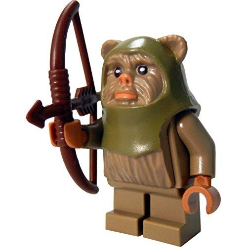 LEGO Star Wars Minifigur Ewok Warrior / Ewok Krieger mit Bogen