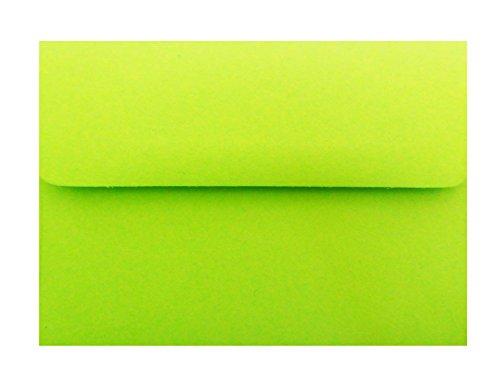 BRIGHT Lime Grün 25A2Umschläge für 4–1/8x 5–1/2Gehäuse Einladungen Ankündigungen Duschen von den Umschlag Gallery