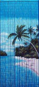 Bambustürvorhang Bambusvorhang, 'Seychellen' ca. 90x200cm, 90 Stränge
